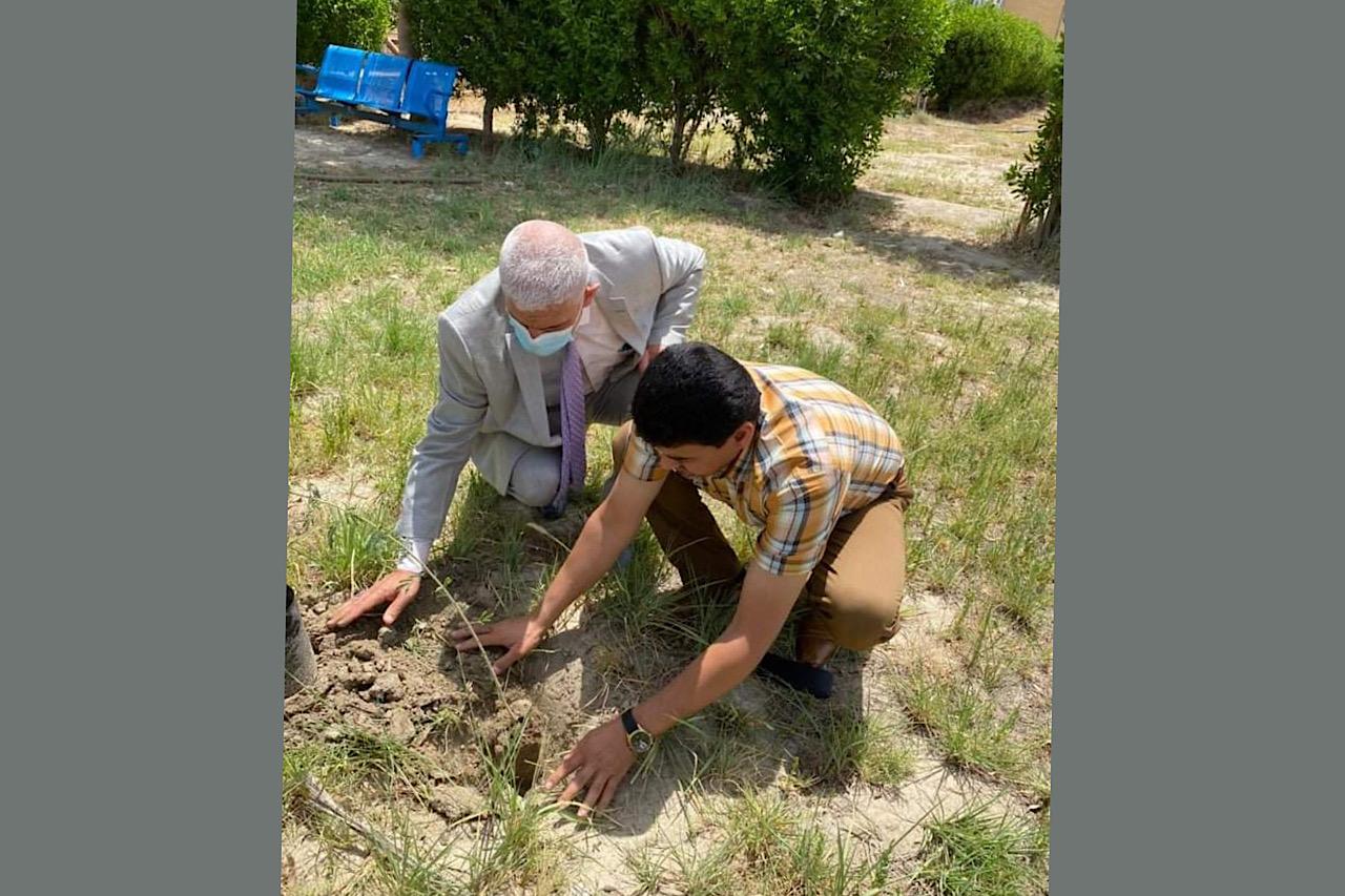 انطلاق حملة مشروع زراعة المليون شجرة